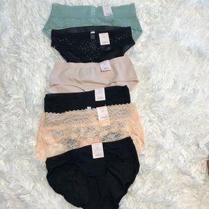 Auden panties underwear size XS (0-2)